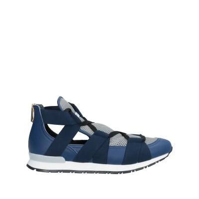 VIONNET スニーカー&テニスシューズ(ハイカット) ブルー 36 紡績繊維 / 革 スニーカー&テニスシューズ(ハイカット)