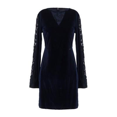 ゲス GUESS ミニワンピース&ドレス ダークブルー XS ポリエステル 94% / ポリウレタン 6% / ナイロン ミニワンピース&ドレス
