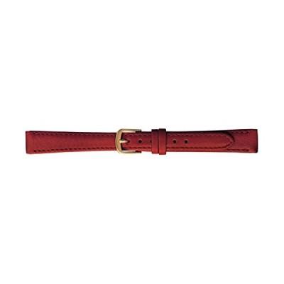 [バンビ]BAMBI 時計バンド 牛革 レッド 10mm BC795R-F