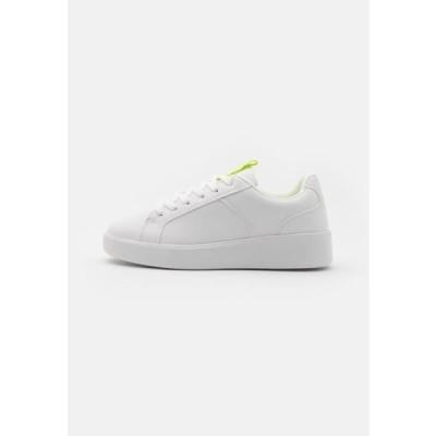レディース 靴 シューズ Trainers - white/yellow