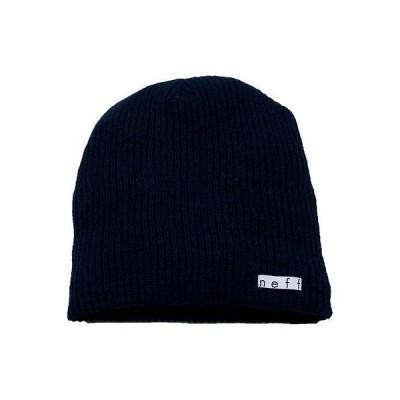 帽子 ネフ Neff Daily ビーニー ネイビー ワンサイズ