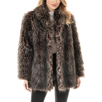 ファビラスファーズ レディース コート アウター Limited Edition Faux Fur Coat