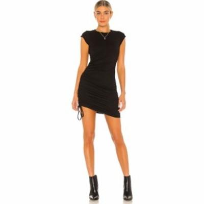 エルエーメイド LA Made レディース ワンピース ワンピース・ドレス Indie Side Ruched Dress Black