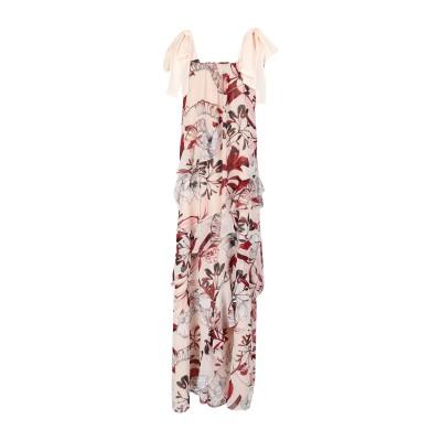 LE COEUR TWINSET ロングワンピース&ドレス ライトピンク XS ポリエステル 100% ロングワンピース&ドレス