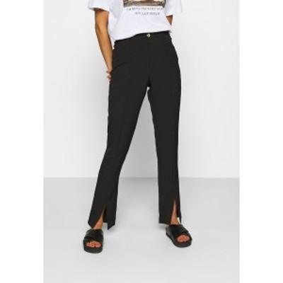 ムーブズ レディース カジュアルパンツ ボトムス LUNI DRESSED PANT - Trousers - black black