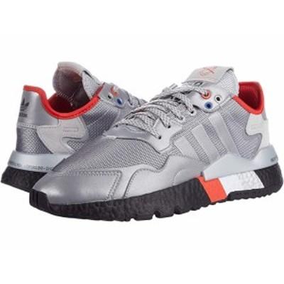 (取寄)アディダス オリジナルス メンズ ナイト ジョガー adidas Originals Men's Nite Jogger Silver/Silver/Black