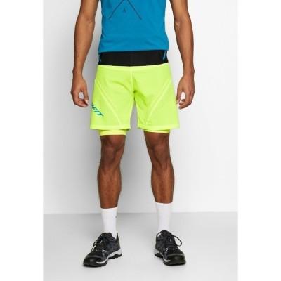 ダイナフィット カジュアルパンツ メンズ ボトムス ULTRA SHORTS - Sports shorts - fluo yellow