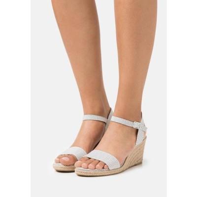 タマリス レディース 靴 シューズ Wedge sandals - denim