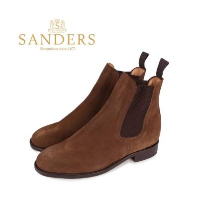 【スニークオンラインショップ】 SANDERS サンダース チェルシー サイドゴア ブーツ 靴 メンズ ビジネス MARYLEBONE Fワイズ ブラウン 9903SS メンズ その他 GB8.0-27.0 SNEAK ONLINE SHOP