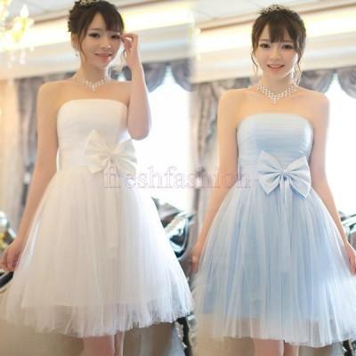 新品人気 ウェディングドレス ミニ カラードレス ウエディングドレス 花嫁 二次会 ドレス 結婚式 コンサート ワンピース パーティー 5036