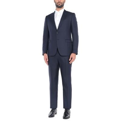 ラルディーニ LARDINI スーツ ダークブルー 46 コットン 73% / シルク 27% スーツ