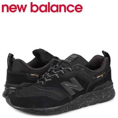 ニューバランス new balance 997 スニーカー メンズ Dワイズ ブラック 黒 CM997HCY