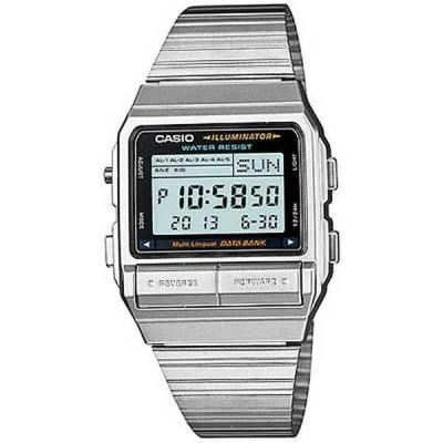 腕時計 カシオ Casio メンズ DB-380-1DF 'クラシック' デジタル ステンレス スチール 腕時計