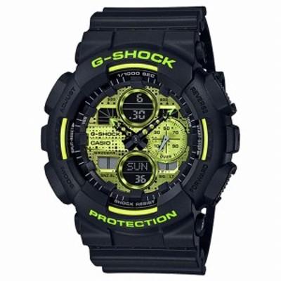 取寄品 CASIO腕時計 カシオ G-SHOCK ジーショック アナデジ アナログ&デジタル 丸形 GA-140DC-1AJF 人気モデル メンズ腕時計 送料無料