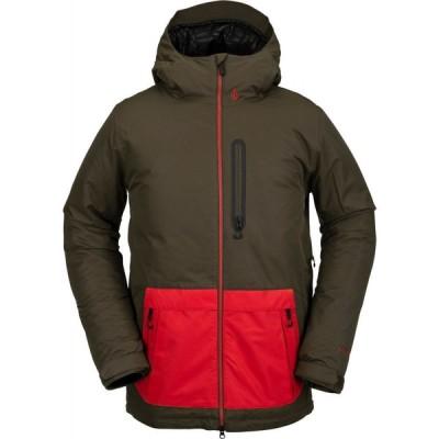 ボルコム Volcom メンズ スキー・スノーボード ジャケット アウター deadlystones insulated snowboard jacket Black Military