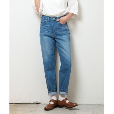 【岡山デニム】【日本製】12オンス セルビッチストレートジーンズ