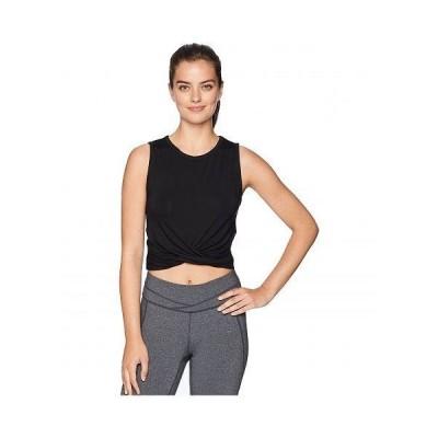 ALO エーエルオー レディース 女性用 ファッション アクティブシャツ Cover Tank Top - Black