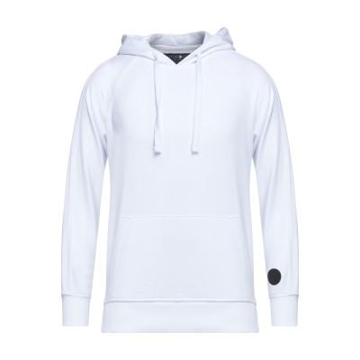 ハイドロゲン HYDROGEN スウェットシャツ ホワイト XS コットン 100% スウェットシャツ