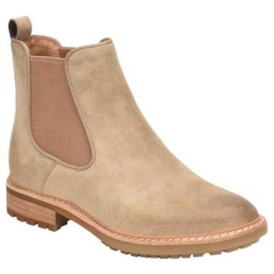 ソフト レディース ブーツ&レインブーツ シューズ Leah Waterproof Chelsea Boot Cashmere Waterproof Oiled Cow Suede