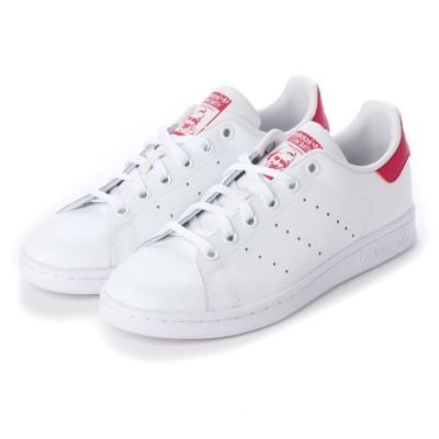 アディダス オリジナルス adidas Originals STAN SMITH J スタンスミス J B32703 (ホワイト×ピンク)