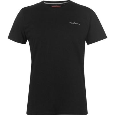 ピエール カルダン Pierre Cardin メンズ Tシャツ トップス Plain T Shirt Black