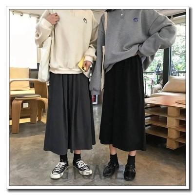 レディース膝丈スカートシンプルロングスカート無地Aライン大人カジュアル大人コーデ秋コーデ通勤ハイウエストファッション
