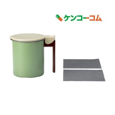 高木金属 フッ素コート活性炭油ろ過ポットWミニ 0.55L KWPM-0.55 ( 1個 )