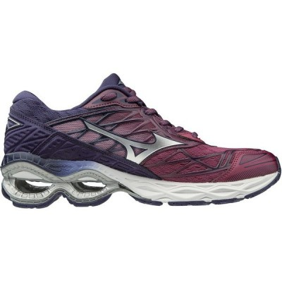 ミズノ スニーカー シューズ レディース Mizuno Women's Wave Creation 20 Running Shoes Purple Dark 01