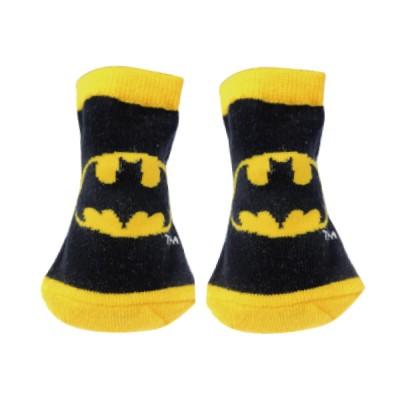 BATMAN バットマン - キャラックス(カップ入) BATMAN アイコン BK×YE / ソックス / キッズ 【公式 / オフィシャル】