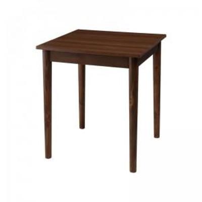 おしゃれ カフェ ヴィンテージ ダイニング ダイニングテーブル ブラウン W68