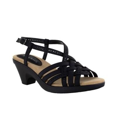 イージーストリート サンダル シューズ レディース Jackson Women's Sandals Black