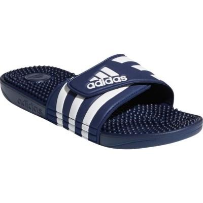 アディダス ADIDAS メンズ サンダル シューズ・靴 Adissage Sport Slide Dark Blue/White