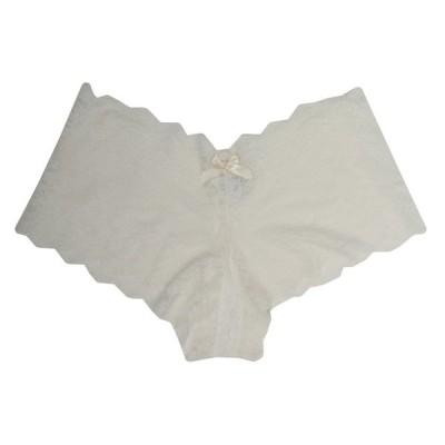 ハンキーパンキー Hanky Panky レディース ショーツのみ インナー・下着 Luxe Lace Crotchless Brief Ivory