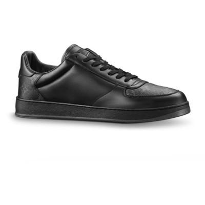 LOUIS VUITTON【ルイヴィトン】メンズSneaker Rivoliスニーカー【Nero 】【送料無料】【正規品】