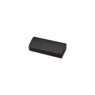 パール 本革 ハード メガネケース(ブラック)HFD-15 BL
