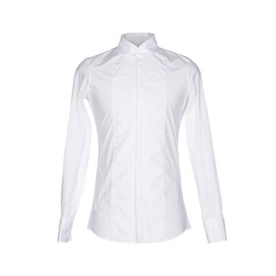 ディースクエアード DSQUARED2 シャツ ホワイト 52 コットン 96% / ポリウレタン 4% シャツ
