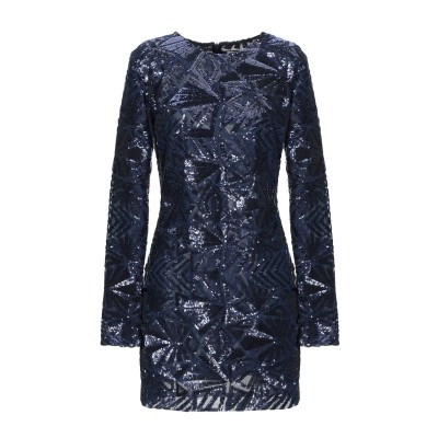 パロッシュ P.A.R.O.S.H. ミニワンピース&ドレス ブルー M ポリエステル 100% / ポリ塩化ビニル ミニワンピース&ドレス