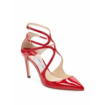 ジミーチュウ レディース シューズ パンプス Patent Leather Ankle-Strap Pumps