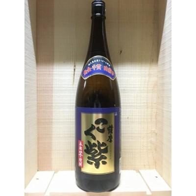 本格芋焼酎薩摩こく紫25度1.8L瓶