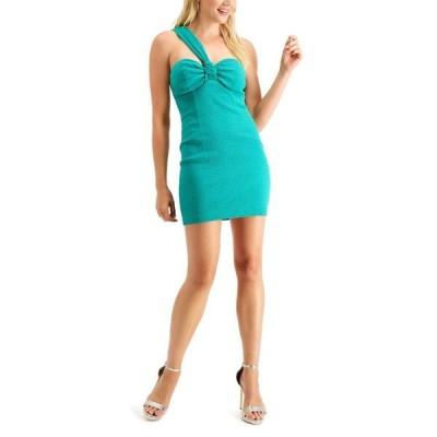 ゲス レディース ワンピース トップス Candice One-Shoulder Mini Dress