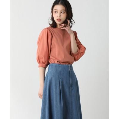(Honeys/ハニーズ)袖異素材トップス/レディース ピンク