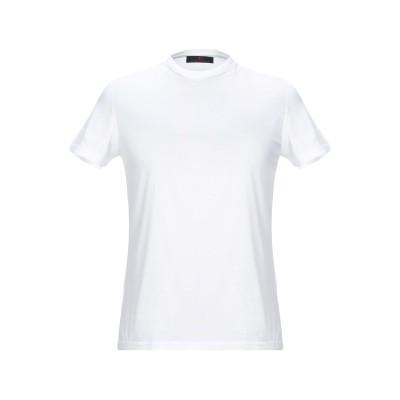レ コパン LES COPAINS T シャツ ホワイト 46 コットン 100% T シャツ