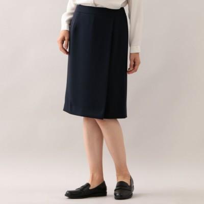 【店舗限定】【ウォッシャブル】コンパクト2WAYツイル スカート