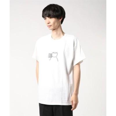 tシャツ Tシャツ 【''C'' KEN KAGAMI 】カガミケン 歯 Tee