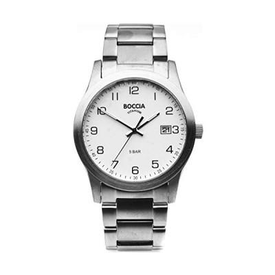 Boccia Mens Analogue Quartz Watch with Titanium Strap 3619-01 並行輸入品