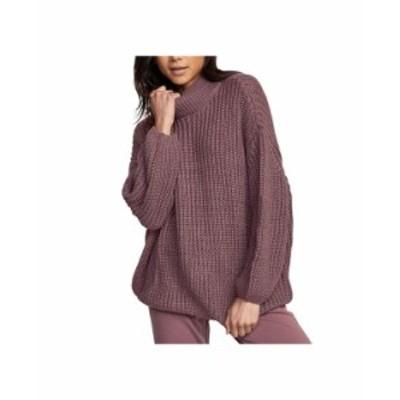ルーカ レディース ニット・セーター アウター Juniors' Fitz Oversized Sweater Mauve