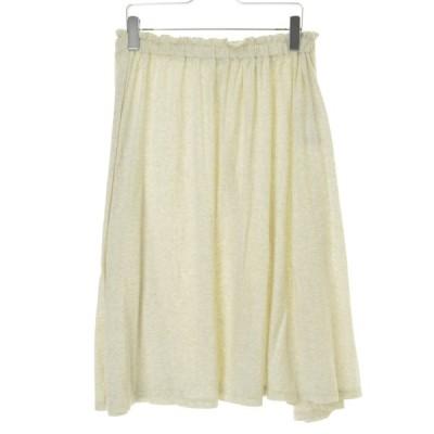 tumugu / ツムグ ラフィラフ天竺ギャザースカートロング スカート