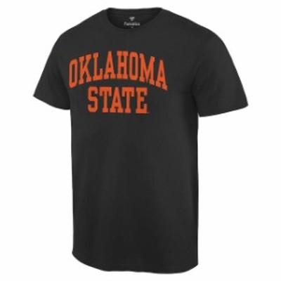 Fanatics Branded ファナティクス ブランド スポーツ用品  Oklahoma State Cowboys Black Basic Arch T-Shirt