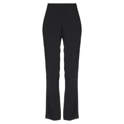 MIRELLA MATTEINI パンツ ブラック 42 ポリエステル 100% パンツ