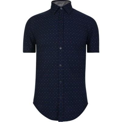 ヒューゴ ボス BOSS メンズ 半袖シャツ トップス Ronn 2 Short Sleeve Shirt Blue